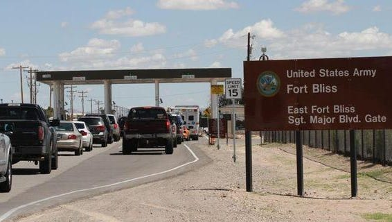 Fort Bliss is no longer accepting New Mexico driver's licenses as a valid single form of identification to get onto post.