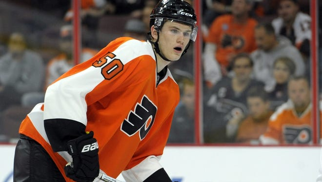 The Flyers returned defenseman Sam Morin to his junior team Friday.