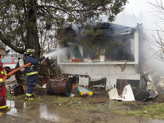 Chatfield mobile home fire
