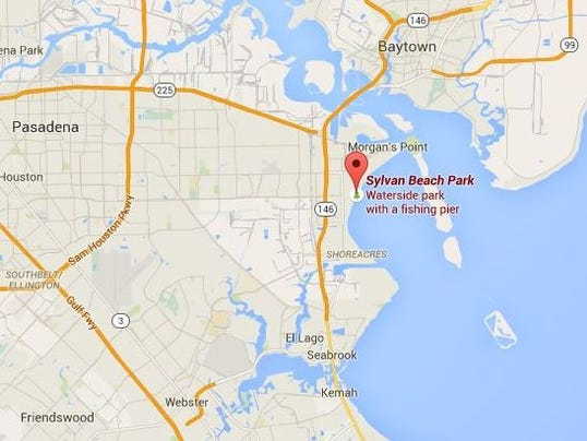 Hcso man drowns after saving his young nephew for Laporte texas map