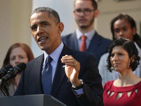 President Obama was joined Oct. 21 by consumers, small-business owners and pharmacists who have benefited from the Affordable Care Act.