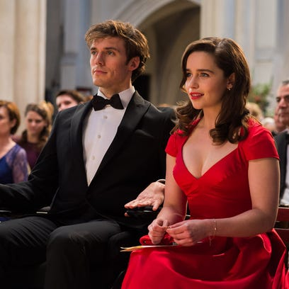 Sam Claflin and Emilia Clarke in 'Me Before You,' an