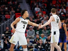 After initial shock and sadness, Purdue basketball moves forward from Isaac Haas injury