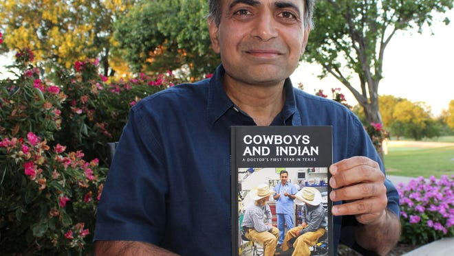 Sandip V. Mathur, an Abilene gastroenterologist, has written a book about his first-year experiences in Texas. He will sign copies Saturday at Texas Star Trading Company.
