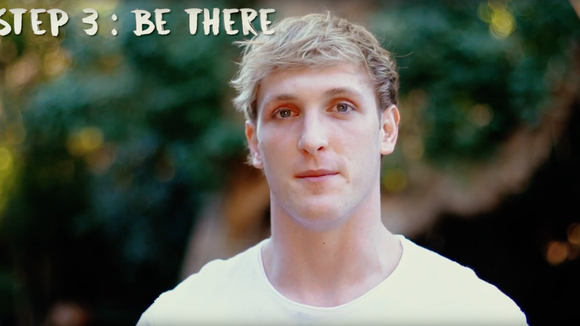 """Credit: Screen shot taken Jan. 25, 2018, of """"Suicide: Be Here Tomorrow,"""" a suicide awareness video from Logan Paul's YouTube Channel."""