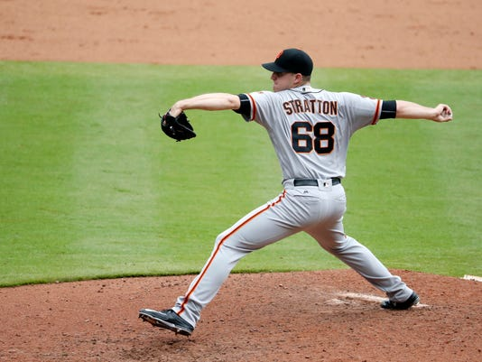 MLB: San Francisco Giants at Atlanta Braves