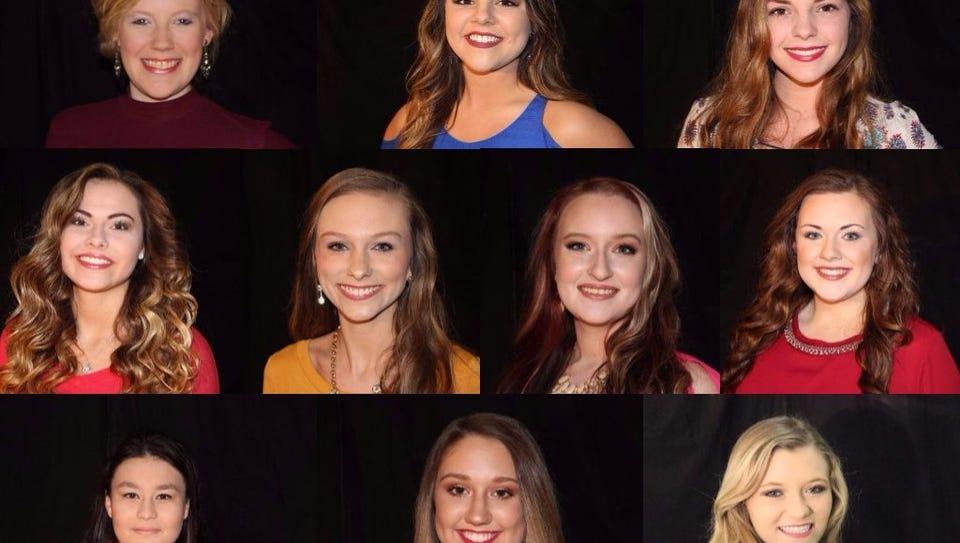 Miss Houston County 2017 contestants