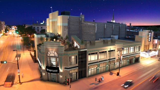 Artist rendering of the Backstage at the Meyer project.