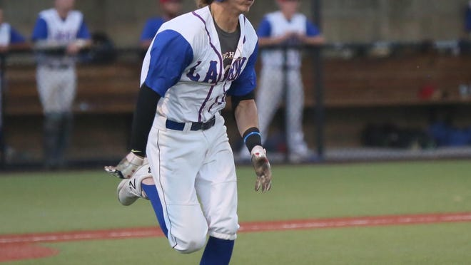 Cameron Pehrson is enjoying a red-hot stretch at the plate for the Hays Larks.