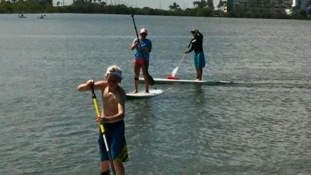 From paddle boarding to bridge running, you've got plenty of fitness focused options this weekend in Brevard.