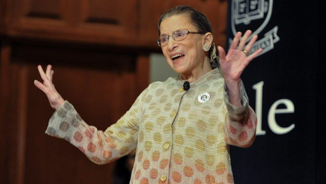 Ginsburg, taking us to church.