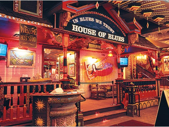 The House of Blues Downtown Disney