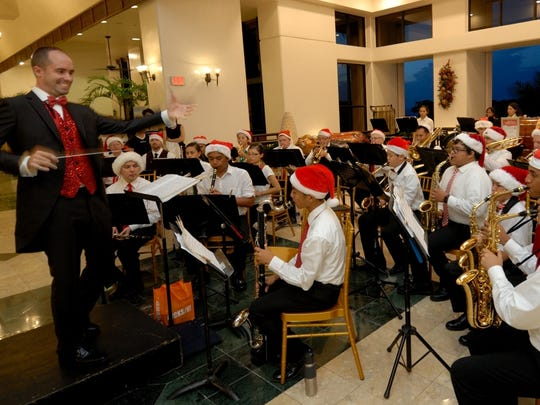 The Guam Territorial Band will once again perform a free Christmas at the Cathedral concert on Dec. 20, 2017.