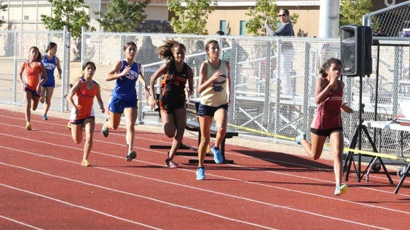 The local race last week was at Pebble Hills High School where the girl's lead pack took a wrong turn making it a 3.4 mile course.