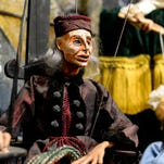 A marionette of John Durang who is considered the first American born actor and born in Lancaster at the newly renovated and renamed Lancaster Marionette Theatre on Water St. in Lancaster on Thursday Jan. 28, 2016.