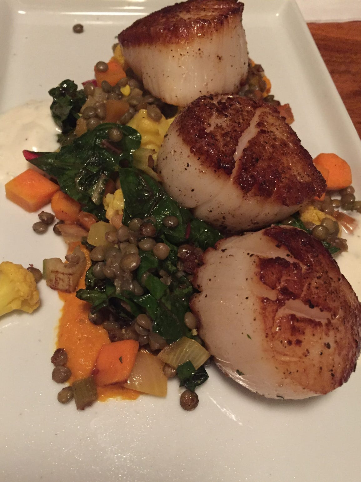 At Goodkind, 2457 S. Wentworth Ave., scallops were