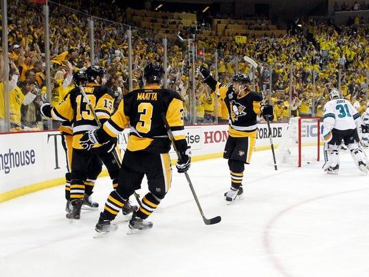 USP NHL: STANLEY CUP FINAL-SAN JOSE SHARKS AT PITT S HKN USA PA