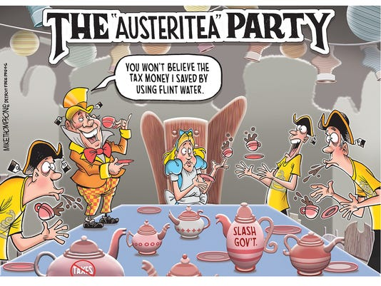 Austerity for Flint