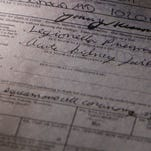 This death certificate shows Flushing resident Dwayne Nelson, 63, died of legionella pneumonia on Aug. 7, 2015, after being treated at a Flint hospital.