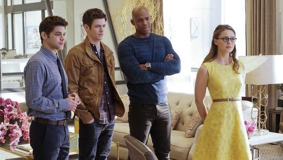 Winn, Barry, James and Kara