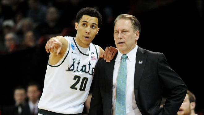 Michigan State head coach Tom Izzo will make his RAC debut on Thursday.