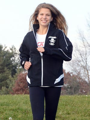 Pinckney's Isabella Garcia was 44th in the state Division 1 cross country meet, leading all Livingston County girls.