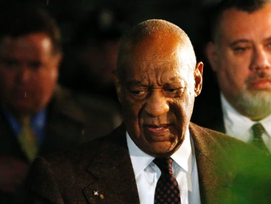 Bill Cosby leaves hearing