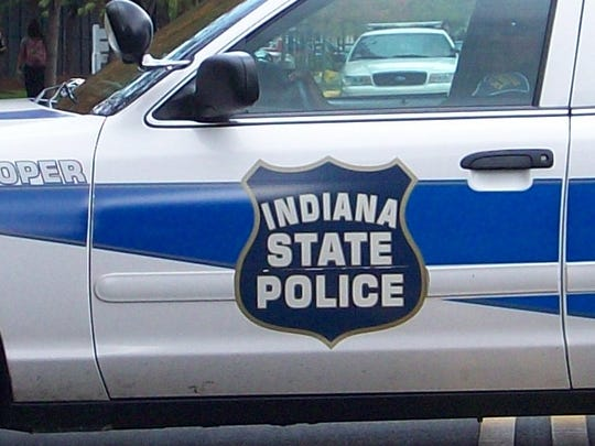 Indiana State Police car.