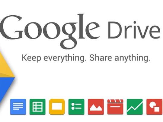 Google's cloud service, Google Drive.
