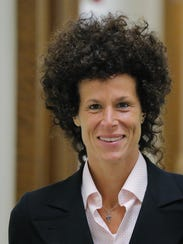 Andrea Constand, Bill Cosby's accuser, at the courthouse
