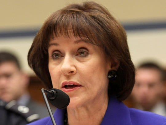 In this March 5, 2014, file photo, former Internal Revenue Service official Lois Lerner is seen on Capitol Hill in Washington.