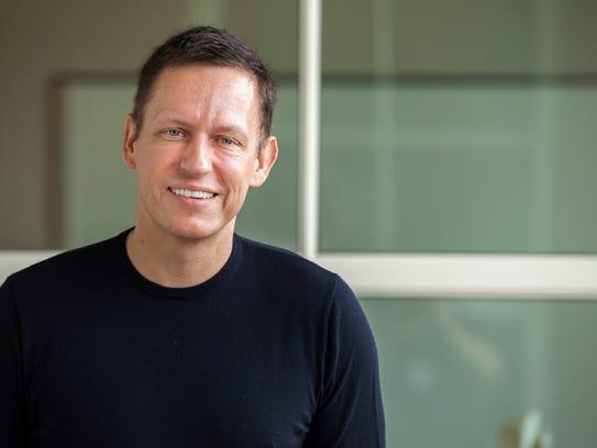 Facebook director Peter Thiel.