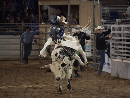 Bullriding will be among the activities when you're