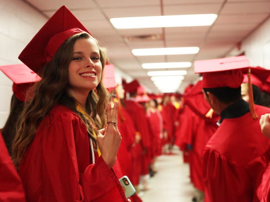 Rossview High Schoo graduated about 360 seniors Saturday