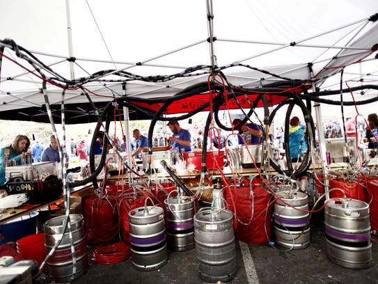 Odell Brewery at the Taste of Fort Collins Saturday