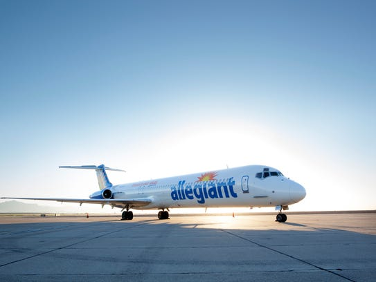 Allegiant Air is adding a once-a-week, non-stop flight
