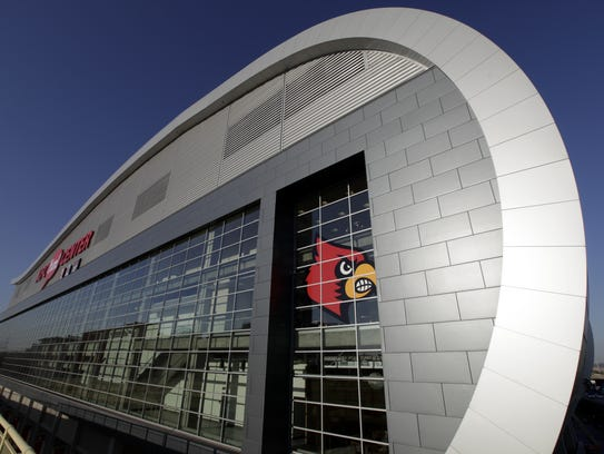 The KFC Yum! Center (By Michael Clevenger, The Courier-Journal)
