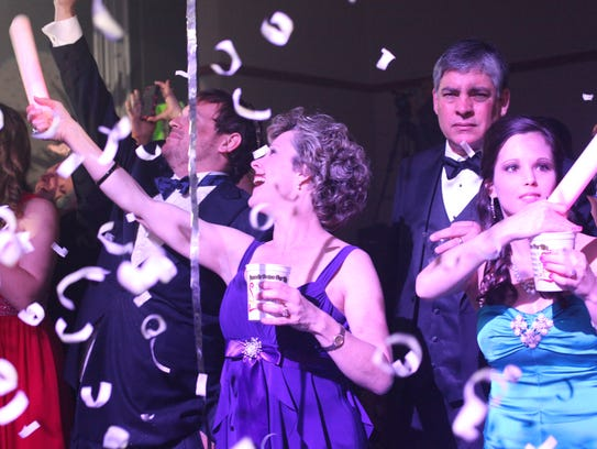 The Krewe of Carnivale en Rio Mardi Gras ball was packed