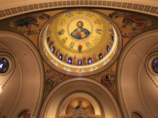 Patrons can tour the Holy Trinity Greek Orthodox Church