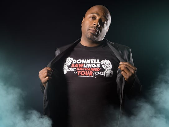 Donnell Rawlings will perform stand-up at Off the Hook