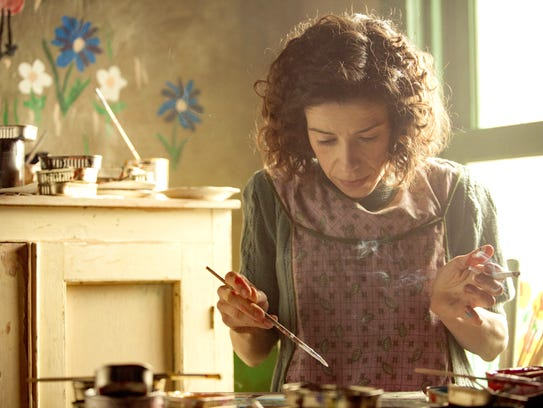 "In ""Maudie,"" the title character (played by Sally Hawkins)"