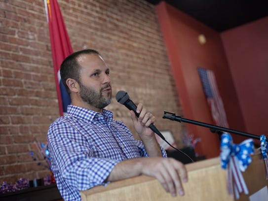 Justin Kanew, a candidate for 7th District U.S. House