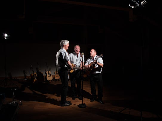 The Kingston Trio 3.0 will perform at 2 p.m. Nov. 12