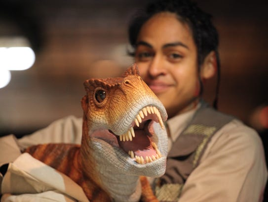 Over 100 life-sized dinosaurs will be on hand for the