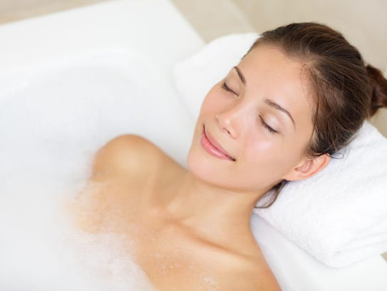 Take a day to relax and soak with your own home spa