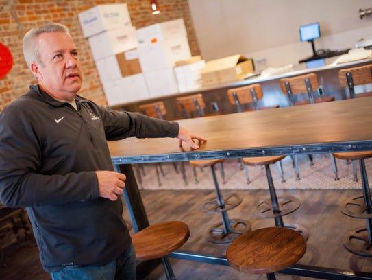 Strawberry Alley Ale works owner Tom Cunningham talks