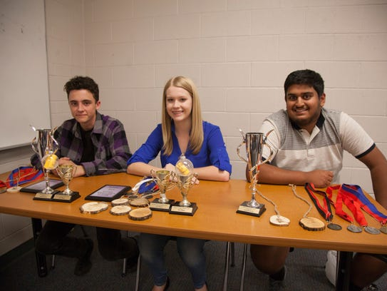 Brody Roberts, Alexa Naase and Yash Vyas lead the Dixie