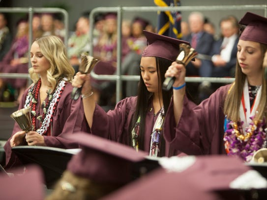 Pine View High School commemorates the graduation of