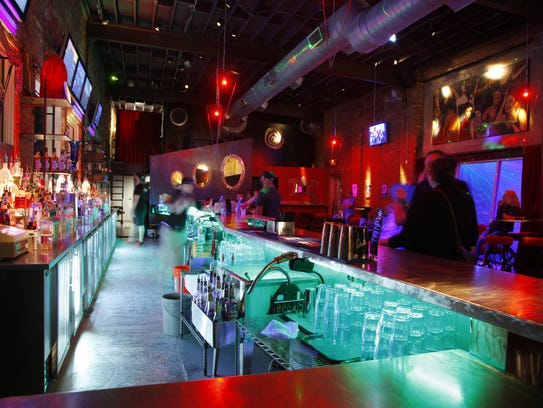The Spiral dance bar in Lansing, is shown Friday, April