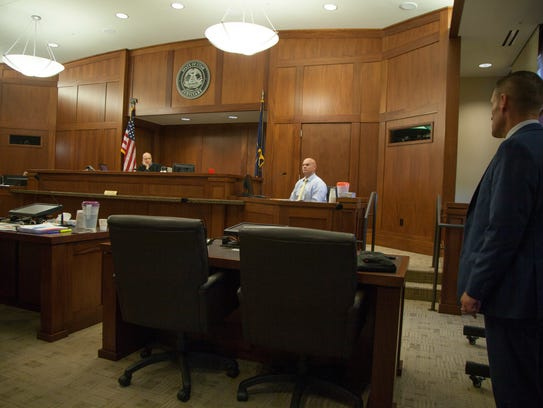 Witnesses testifies during the preliminary hearing